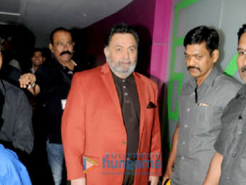 Rishi Kapoor and Amitabh Bachchan snapped promoting their film 102 Not Out at the Star Sports studio