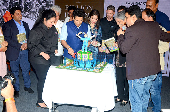 Sachin Tendulkar launches Boria Majumdar's book 'Eleven Gods and A Billion Indians'
