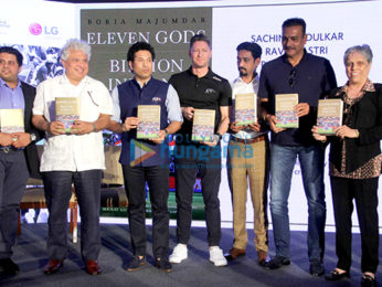 Sachin Tendulkar launches Boria Majumdar's book 'Eleven Gods and A Billion Indians'