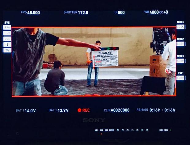 BHARAT: Salman Khan begins shooting, REVEALS his look