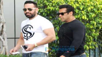 Salman Khan proceeds to Jodhpur with sisters Alvira and Arpita