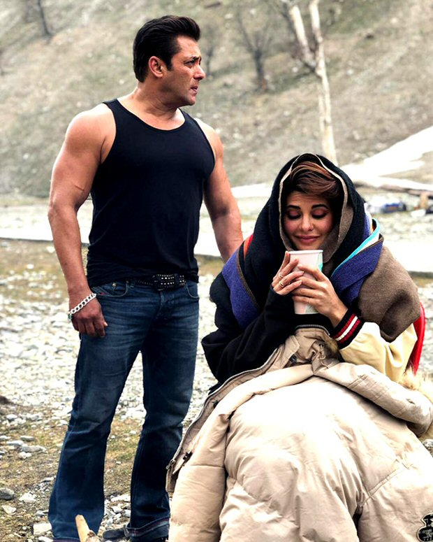 Salman Khan is 'too hot to handle' for Jacqueline Fernandez