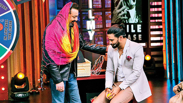 Sanjay Dutt DANCES with a dupatta on Entertainment Ki Raat @9 and here's why it's super fun