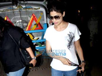 Shamita Shetty spotted at Kromakay salon in Juhu