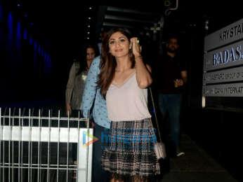 Shilpa Shetty and Raj Kundra snapped at Hakkasan