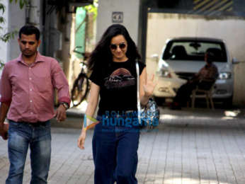 Shraddha Kapoor snapped at the Maddock Films office