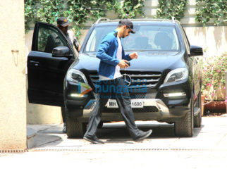 Sidharth Malhotra, Daisy Shah and Aditya Roy Kapur snapped outside the gym