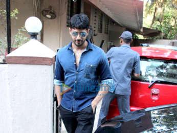 Sidharth Malhotra snapped at the Matrix office