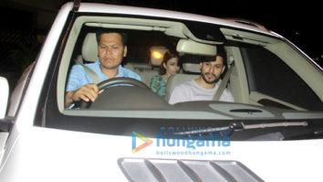 Soha Ali Khan, Amrita Arora and Malaika Arora spotted at Kareena Kapoor Khan's house