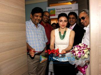 Soha Ali Khan inaugurates the New Horizons Child Development Centre