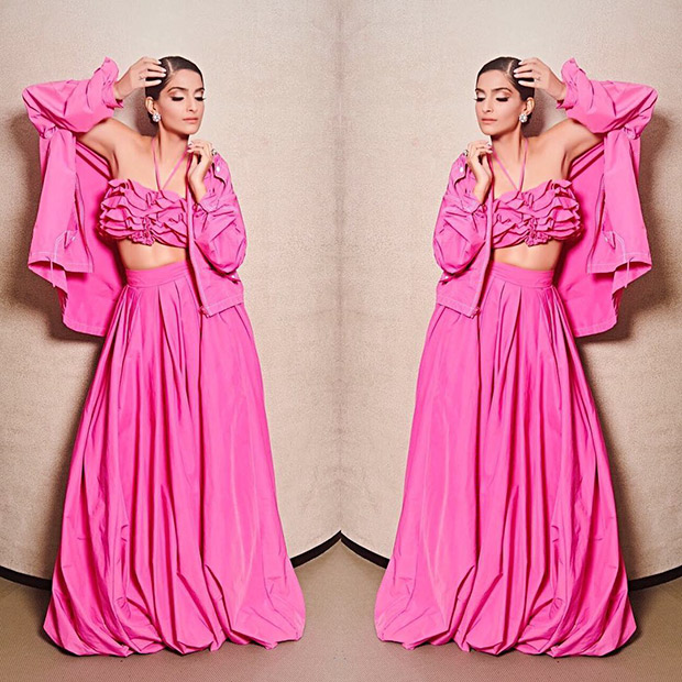 Sonam Kapoor - A ruffled affair in pink