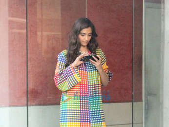 Sonam Kapoor snapped at a clinic