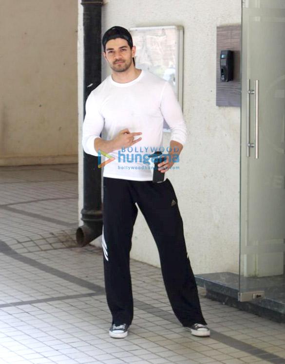 Sooraj Pancholi spotted at the T-Series' office in Andheri