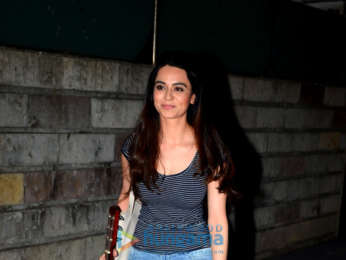 Soundarya Sharma spotted after a shoot in Bandra