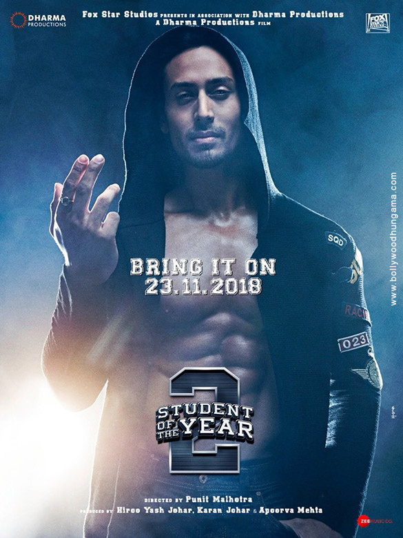 First Look Of The Movie Student Of The Year 2