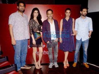 Sujoy Ghosh, Surveen Chawla, Vikrant Massey, Tina Desai and Kunal Roy Kapur grace the press meet for a new series
