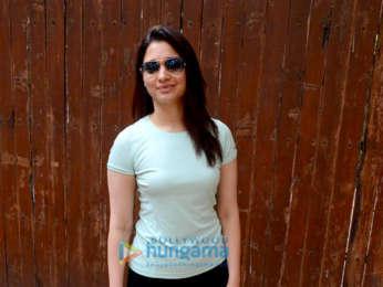 Tamannaah Bhatia spotted at dance rehersal in Bandra