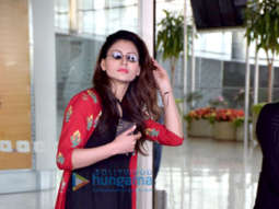 Urvashi Rautela, Abhishek Bachchan, Seema Khan and others snapped at the airport