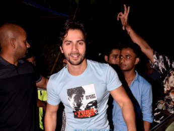 Varun Dhawan and Banita Sandhu snapped at PVR, Juhu
