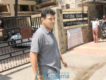 Vidya Balan snapped at Indigo