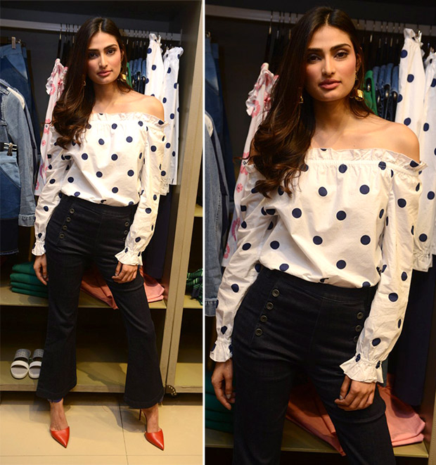 Weekly Best Dressed Celebrities - Athiya Shetty in Benetton