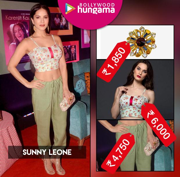 Weekly Celebrity Splurges - Sunny Leone