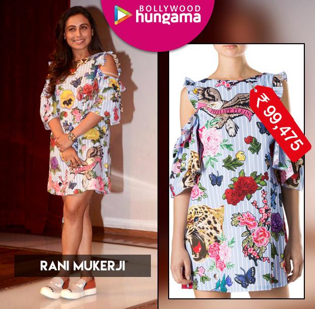 Weekly Celebrity Splurges - Rani Mukerji