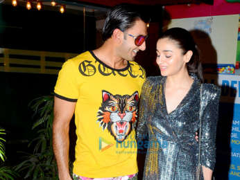 Wrap up party of 'Gully Boy'
