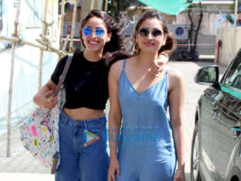 Yami Gautam with her sister and Poonam Sinha spotted at PVR in Juhu
