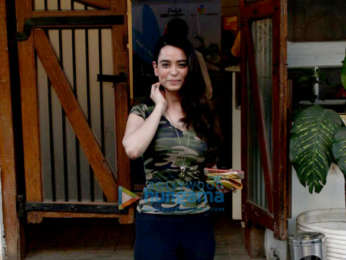 Yami gautam and Soundarya Sharma spotted at The Fable Cafe in Juhu