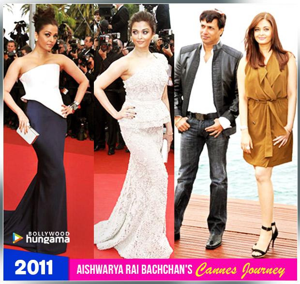 Aishwarya Rai Bachchan Cannes journey 2011