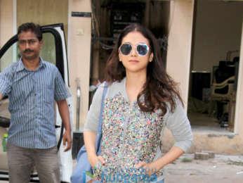Aditi Rao Hydari snapped at Nail Spa in Bandra
