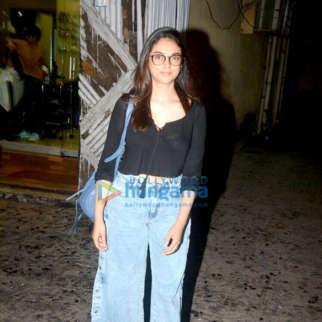 Aditi Rao Hydari snapped at Zido salon in Bandra