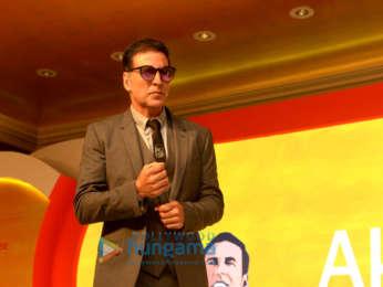 Akshay Kumar attends the Niine Swachh Bharat Ki Shuruaat Humse campaign