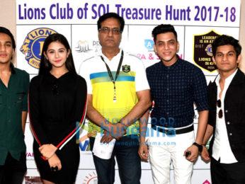 Amaal Mallik, Daboo Malik and others grace the Treasure Hunt program by Lions Club of Mumbai