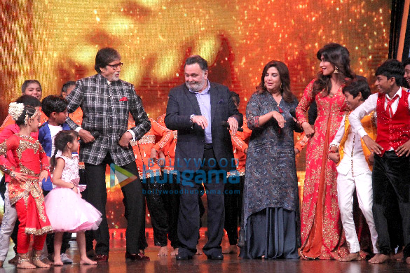 Amitabh Bachchan and Rishi Kapoor promote 102 Not Out with DID Lil Masters