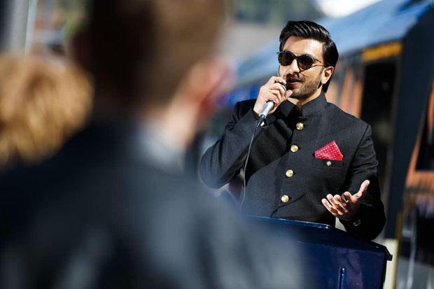PHOTOS: An excited Ranveer Singh inaugurates 'Ranveer on Tour' train in Switzerland