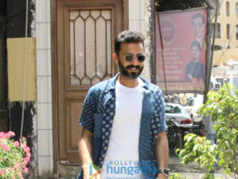 Anand Ahuja snapped checking out his new place in Bandra