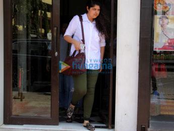 Athiya Shetty and Anshula Kapoor snapped at Bastian in Bandra