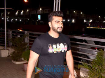 Arjun Kapoor and Mohit Marwah spotted at a screening