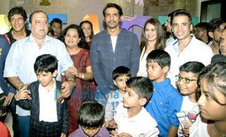 Arjun Rampal, Chunky Pandey and others grace Pooja Dingra's son Aakash's birthday