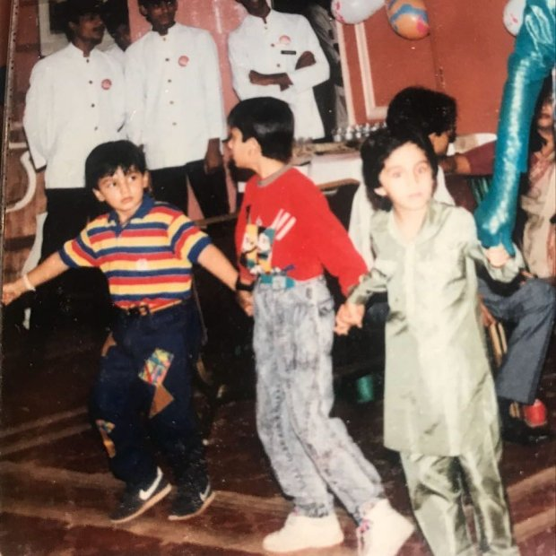 THROWBACK THURSDAY: Arjun Kapoor makes fun of Ranbir Kapoor wearing high waist jeans in this old photo with Siddhanth Kapoor