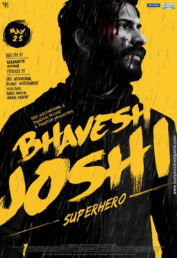 First Look Of Bhavesh Joshi Superhero
