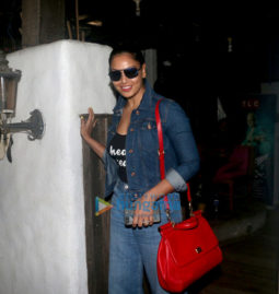Bipasha Basu spotted at Hakim's Aalim salon in Bandra