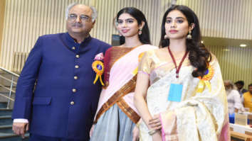 National Film Awards 2018: Boney Kapoor, Janhvi Kapoor and Khushi Kapoor receive Best Actress Award for Mom on behalf of late Sridevi
