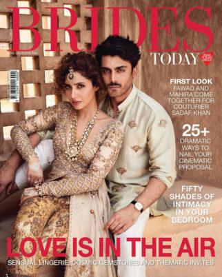 Fawad Khan, Mahira Khan On The Cover Of Brides Today