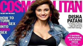 Disha Patani On The Cover Of Cosmopolitan