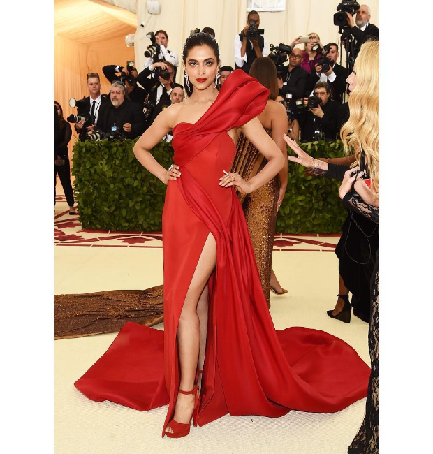 Deepika Padukone in Prabal Gurung gown for Met Gala 2018