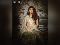Diana Penty for Brides Today photoshoot with Abhinav Mishra