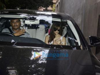 Disha Patani snapped at Salman Khan's office in Bandra